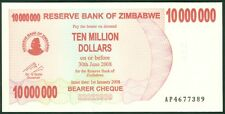 TWN - ZIMBABWE 55a - 10000000 D. 1.1.2008 UNC Pref. AP - FREE SHIPPING over €150