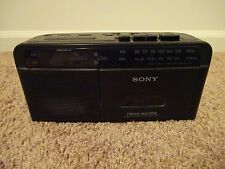 Sony Alarm Clock Radio with Cassette ICF-C610