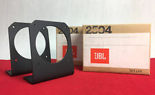 NOS JBL 2504 Mounting Bracket Stand Pair No Boxes for 075 076 077 2402 2404 2405