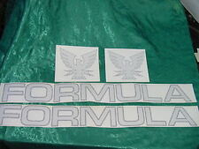 "FORMULA BOAT DECALS THUNDERBIRD GENUINE LARGE PAIR 3.5""  X 33"" PAIR LETTERS ONLY"