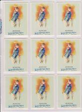 (9) 2010 ALLEN & GINTER AVERY JENKINS CARDS #73 ~ DISC GOLF WORLD CHAMP HUGE LOT