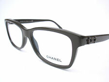 New Chanel Eyeglasses 3311 Dark Brown c.1501 Authentic 52-16-140 w/original case