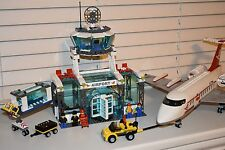 LEGO 7894 - City Airport Set - 100% Complete with Minifigures - RARE SET!!
