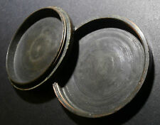 1797 TWO PENCE COLONIAL ERA SAILOR SMUGGLERS TIN  COIN OLD SPY  LOVE TOKEN  RARE