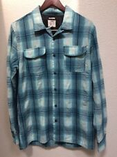 O'Neill Plaid Long Sleeve Button Front Jacket Size Men's L