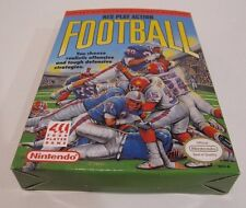 NES Play Action Football Box and Game Video game sports Nintendo