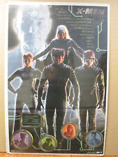 Vintage X-Men the movie 2000 poster movie Marvel characters 7771