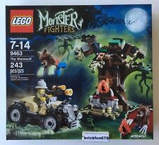 Lego Monster Fighters 9463 The Werewolf New In Factory Sealed Box