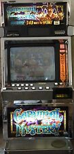"""IGT I GAME """" CARNIVAL OF MYSTERY """" SLOT MACHINE ( COINLESS ) ( TICKET PRINTER )"""