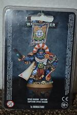Space Marines Captain Games Workshop Warhammer 40k NIB Free Fast Shipping! W25