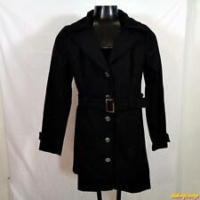 GUESS Wool Jacket Coat Peacoat Pea Womens Size XL black