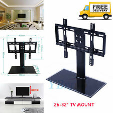 """Bracket TV Stand Universal Replacement Tabletop TV Base Stand Mount F 26-32"""" TVs"""
