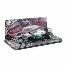 Minichamps 1:43 Mercedes W03 F1 M. Schumacher Spa 2012