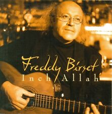 FREDDY BIRSET - Inch Allah 2TR CDS 2002 VOCAL / CHANSON