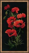 "Counted Cross Stitch Kit RIOLIS - ""Poppies"""