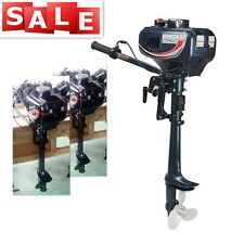 3.5HP Outboard Motor Boat Engine 2-Stroke Updated with Water Cooling System USA