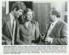 ANTHONY ANDREWS JANE CURTIN JONATHAN LYNN SUSPICION ORIGINAL 1987 PBS TV PHOTO