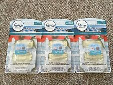 6 Febreze Set & Refresh Small Spaces GREEK SEASIDE Refills 3 Double Packs=6