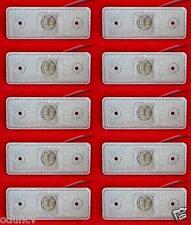 10x 4 LUCI DI POSIZIONE LED LATERALI 12V luci INDICATORE FARI CAMION FURGONE BUS