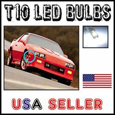 T10 W5W 194 168 ULTRA BRIGHT LED SIDE MARKER LIGHTS BULBS - CAMARO FIREIRD V8 V6