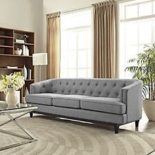 Lexmod EEI-2131-LGR Coast Sofa, Light Gray NEW