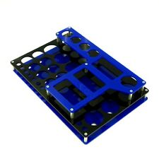 Black/Blue VAPE STAND Atty Rda Rba Mod Clone Holder Mechanical Station Box X111