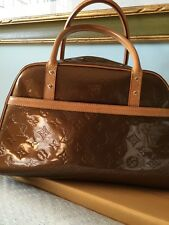 Borsa louis Vuitton in monogram vernis