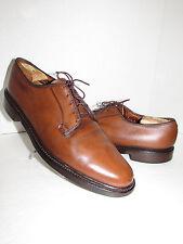 FLORSHEIM Cognac Imperial Leather Vintage Oxfords Style Shoes SZ 11.5 B