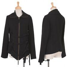 Jean Paul GAULTIER FEMME Side belt zip jacket Size 38(K-15646)