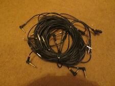 "Roland TD-20 LABELED TEN  1/4"" Cables for electronic drums v"