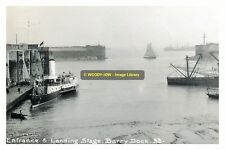 rp13944 - Paddle Steamer Waverley at Barry Docks , Glamorganshire - photo 6x4
