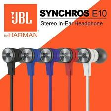 JBL Synchros E10 In-ear 3.5mm jack Earphone Headphone with Bold Sound