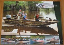 2016 Yamaha G3 Fishing Bass Boats Dealer Brochure 101 Pages