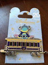 Disney DLP 20th Anniversary Disneyland Railroad Train Car - Stitch Pin LE 600