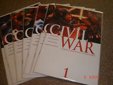CIVIL WAR THE COMPLETE SERIES 1-7