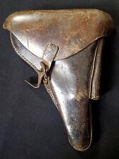 A0385 - ALLEMAGNE Etui pour LUGER P08 daté 1915 WW1 German Holster Luger P08