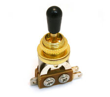 EP-0066-002 Gold Short Shorty Straight Toggle Switch for Guitar/Bass