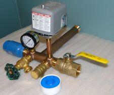 1 x 11 PRESSURE TANK TEE KIT Water Well Pump SQUARE D FSG2 40/60 Switch + VALVE