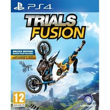 Trials Fusion Deluxe Edition Sony PS4 Game (Includes Season Pass) Brand New