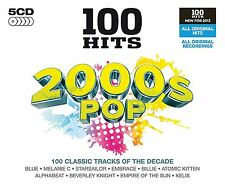 100 GREATEST HITS 2000s POP NEW SEALED 5 CD BOX SET CLASSIC TRAX OF THE DECADE
