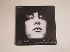 PATTI SMITH-ASK THE ANGELS/TIME IS ON MY SIDE- 45 VINYL RECORD-FRENCH PICTURE