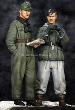 ALPINE MINIATURES 35201 Joachim Peiper Kharkov Set Resin Figuren in 1:35