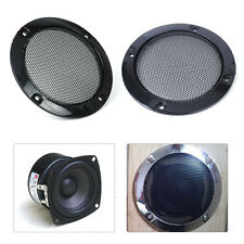 "DIY 2pcs Black 3""inch Circle Speaker Decorative Circle Protective Grille"