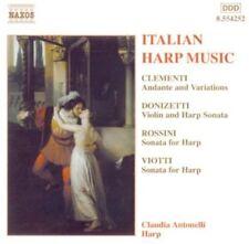 Claudia Antonelli - Italian Harp Music [New CD]