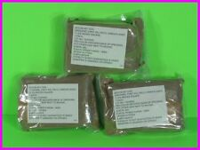 """* 3 US Military Field First Aid Dressing 11 3/4"""" Sq Camouflage Hunters Sterile *"""