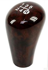 Walnut manual gear knob Toyota Hilux Mk6 Vigo Interior wood shift stick parts