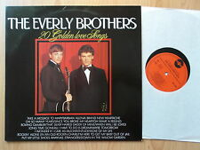 THE EVERLY BROTHERS LP:20 GOLDEN LOVE SONGS (Masters – MA 5785)