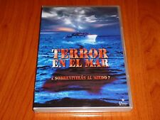 TERROR EN EL MAR / Shark Zone - English / Español DVD R2 Precintada