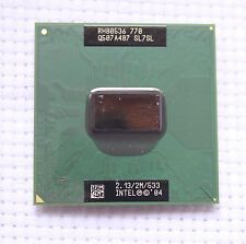 Intel Pentium M 770 P4M SL7SL 2.13GHz 2M 533MHZ FSB SOCKET 479 Mobile Test Work!