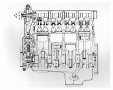 1983 Porsche 944 Engine Photo Poster zuc5537
